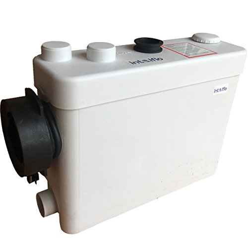 Toilet Macerating Pump,Kitchen Waste Water Disposal Pump,Reamer crush Function,Automatic start stop,AC 110V 400W High Power Saving Function Toilet Macerator Pump,Grey water ()