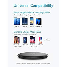 Anker PowerWave Wireless Charger Ladepad, 10W Ladegerät