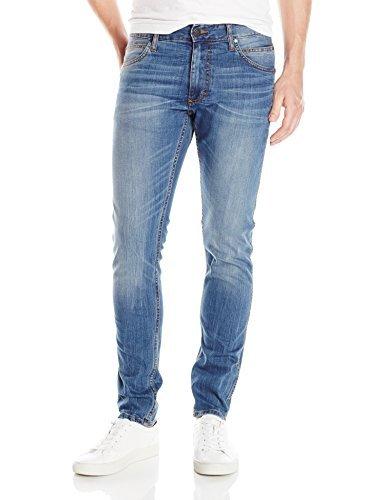 996b9f3cf157 Calvin Klein Jeans Men's Sculpted Slim Jean Beach White, Voyager Indigo,  31W 32L