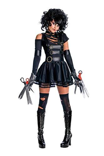 Secret Wishes Womens Edward Scissorhands Miss Scissorhands Costume, Black, Small]()