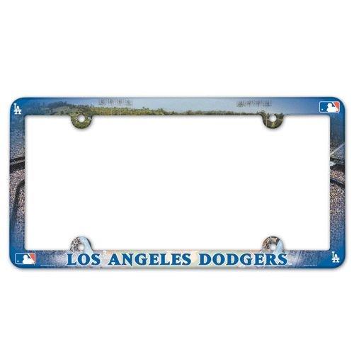 Los Angeles Dodgers License Plate Frame Full Color