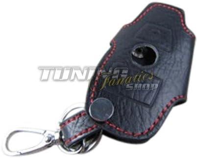 Llave funda estuche llavero llaves Llave piel rojo 2 para MB: Amazon.es: Coche y moto