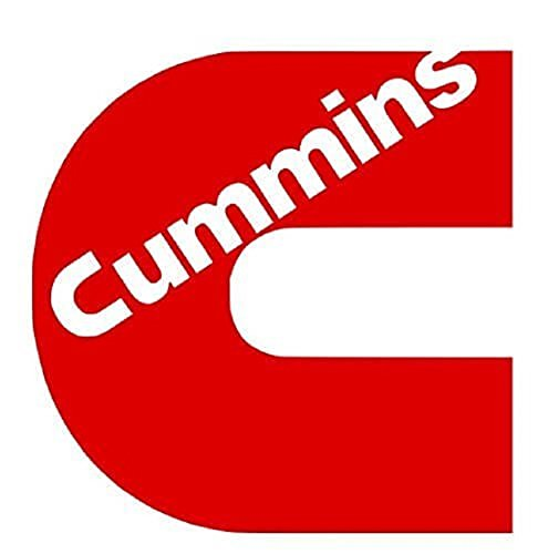 CUMMINS Vinyl Decal 7in to 20in Diesel Power HIGH GLOSS RED LaptopTruck Car SUV Window Wall Toolbox Sticker (11x11) by BCD (Image #1)