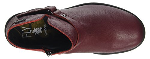 Cordoba Boot Red Women's YOCK062FLY Mousse London Fly Hw7SIgqzS