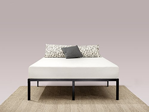 Best Prices! Zinus 14 Inch Classic Metal Platform Bed Frame with Steel Slat Support / Mattress Found...