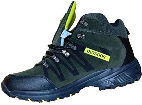 トレッキングシューズ メンズ ハイキングシューズ 登山靴 アウトドアシューズ 防水 軽量 防滑 厚い底 ハイシューズ…