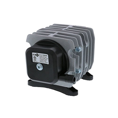 EcoPlus 793 GPH (3000 LPH, 18W) Commercial Air Pump w/ 6 Valves | Aquarium, Fish Tank, Fountain, Pond, Hydroponics by EcoPlus (Image #4)
