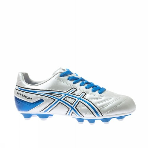 Asics Scarpe Calcio Junior - Warrior JR NR - JSP992-01D9 - White / Blue Aster-37