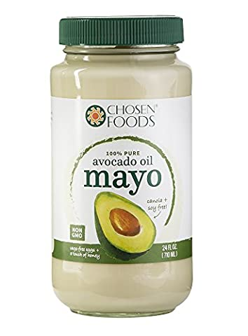 Chosen Foods Avocado Oil Mayo, 24 Ounce - Ingredients In Mayonnaise