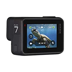 GoPro HERO7 Black — Waterproof Digital Action Camera with Touch Screen 4K HD Video 12MP Photos Live Streaming… Fdeals camera