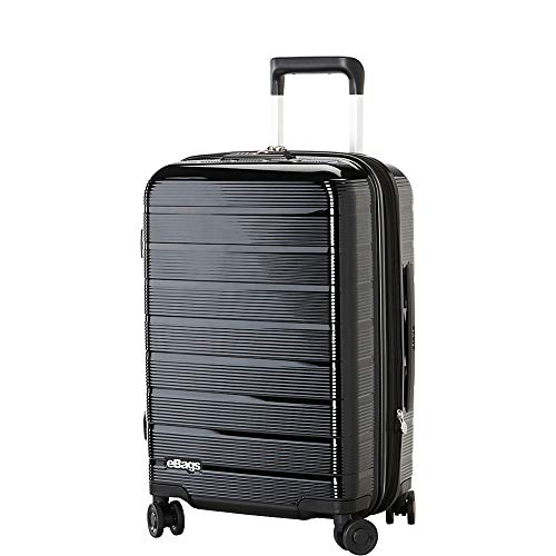 "eBags Fortis 22"" Hardside Spinner Carry-On (Black)"