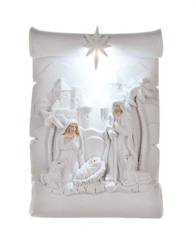 Ganz Scroll Light up Nativity by Ganz