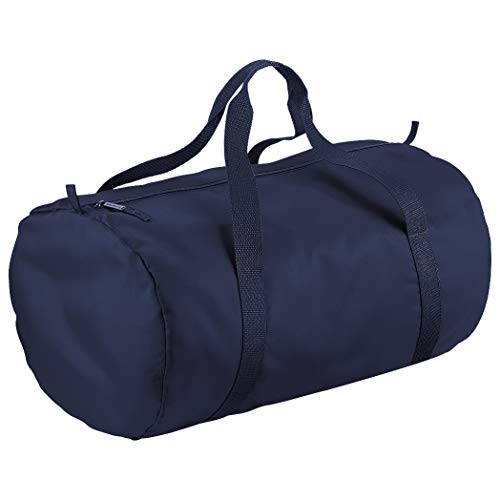 French Navy French Packaway Barrel Bag Navy BagBase qPzUwOSx7Z