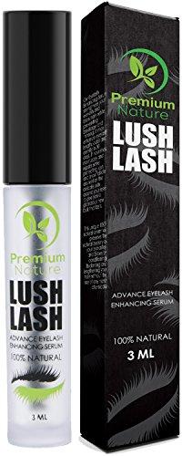 Eyelash Growth Serum Lash Eyebrow - 100% Natural Eyelash Serum to Grow Lashes Brow Growth Serum Eyebrow Lash Serum for Growth Eyelash Boost Enhancer Best Treatment Stimulate Eye lashes & Eyebrow