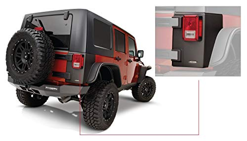 Bushwacker 14010 Jeep Trail Armor Rear Corner Pair