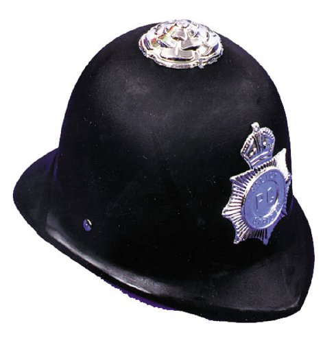 English Bobby Helmet Costume Accessory (London Halloween Stores)