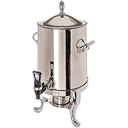 Elegance Silver 89851 Stainless Steel Coffee Urn, 55 Cup