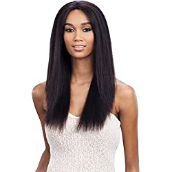 Baisi Pre-Plucked Straight 360 Lace Wig With Free Wig Cap 150% Density Natural Color Full Lace Band Virgin Human Hair Wigs For Black Women with Baby Hair (12inch)