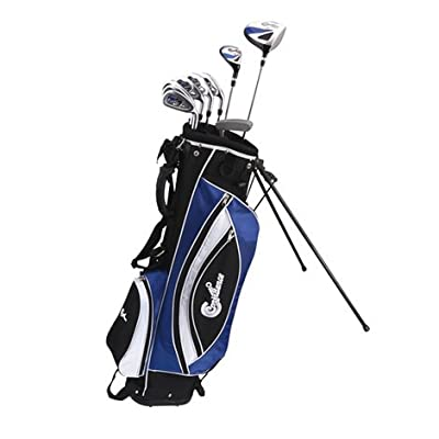Confidence GOLF LEFTY POWER ll Hybrid Club Set & Stand Bag by Power