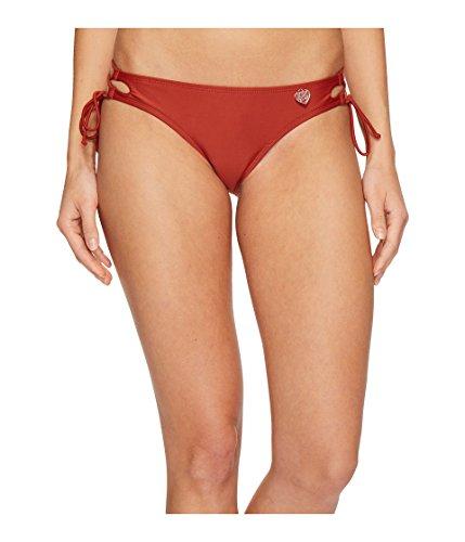 Body Glove Women's Smoothies Tie Side Mia Bottoms Terracotta Medium