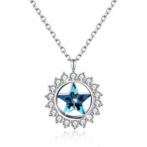 KnSam Silver Necklace Necklaces Sterling Silver Necklace with