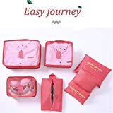 7Pcs Travel Storage Bags Clothes Packing Cube
