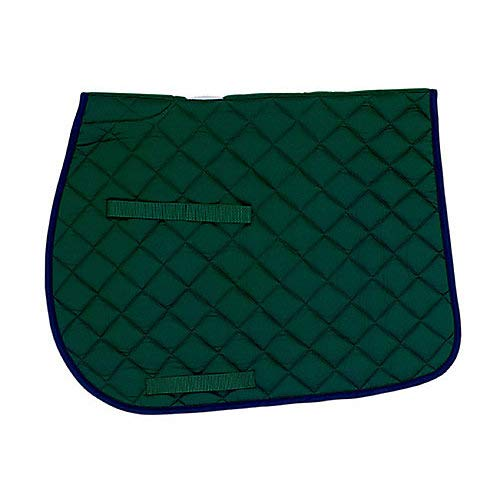 Union Hill All Purpose Saddle Pad Hunter Green ()