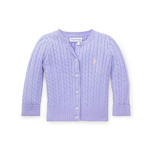 Ralph Lauren Girls Cardigan Sweater - Polo Ralph Lauren Baby Girls Mini