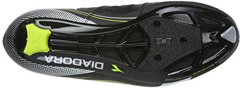 Prendimi by Scarpe&Scarpe - Zapatos acordonados de Encaje, Zapatos Planos - 39,0, Negro
