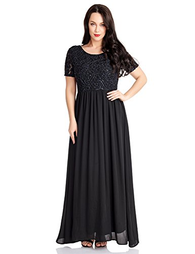 long black modest dress - 3