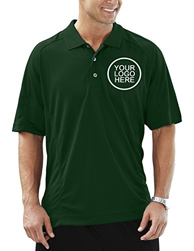 Pro Celebrity Empire Polo Shirt With Custom School Team Company Professionally Stitched Logo Embroidery - Uniform Pack Of 6pcs/12pcs/24pcs (Dark Green, - 90s Cholo