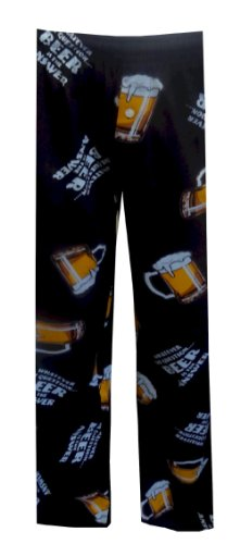 Whatever The Question Beer Is The Answer Lounge Pants for men (X-Large)