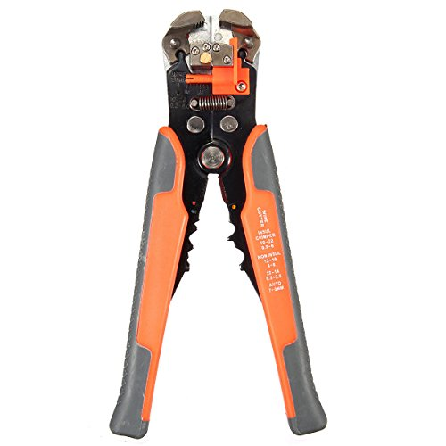 Agile-shop Professional Multifunction Automatic Wire Cutter Stripper Crimper Pliers Terminal Tool by Agile-shop (Image #2)