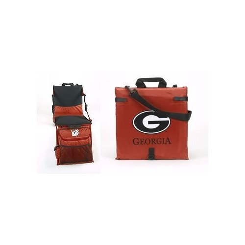 BSI Georgia Bulldogs Bleacher Tailgate Cooler Seat Cushion ()