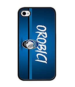 Thundergrandy - For Iphone 4s Funda Case - Customized Atalanta fc With Distinctive Football Logo Grace Fantastic Trendy Design Scratch Resistant Durable Hard Plastic Back Cover Compatible With Iphone 4 4s