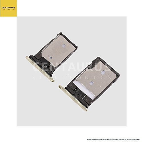 2 PCS Replacement for HTC One A9 A9u A9w Hima Aero SIM SD Card Slot Memory Tray Displace (Htc One Sim Card Tray)