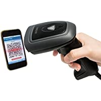 USB Barcode Reader Scanner, Vindar 1D & 2D CMOS Image Bar-code Scanner Wired Handheld Laser Bar Code Scanner Mobile Payment Computer Screen Scanner