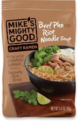 Mikes Mighty Good Soup Pillow Pack Bf Rice Noodle, 1.6 oz