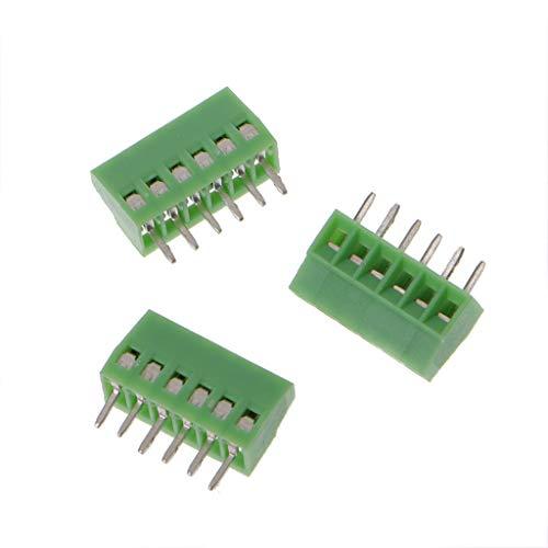 YoungerY Conector de Terminal de PCB de Paso de 2,54 mm -10PIN 10 Piezas