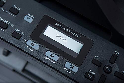 Brother MFCL2710DW - Impresora multifunción láser monocromo con fax e impresión dúplex (30 ppm, USB 2.0, Wifi, Ethernet, Wifi Direct, procesador de 600 MHz, memoria de 64 MB) gris 3