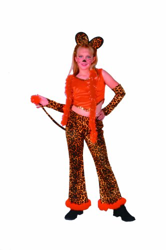 Child Leopard Rock Star Girl Costumes (Child Leopard Rock Star Girl Costume)