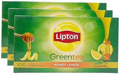 Lipton Honey Lemon Green Tea Bags, 160 gm
