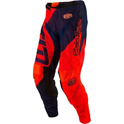 (Troy Lee Designs 2017 GP Air Pants - Quest (28) (FLO Orange/Navy))