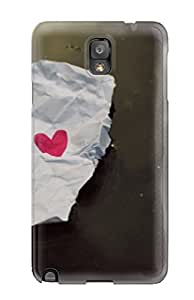 Waterdrop Snap On Loves For Pc Case For Galaxy Note 3