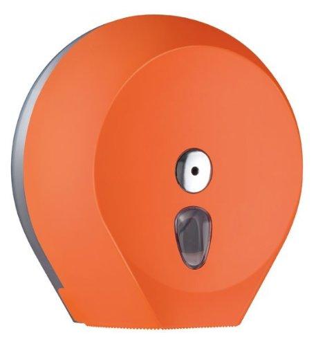 Mar Plast A75810NE Toilettenpapier Jumbo Schwarz Soft Touch//durchsichtig 335 x 128 x 128mm