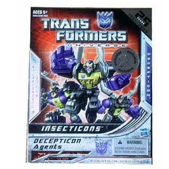 Insecticons Exclusive Transformers Universe 25th Annaversary Action Figure