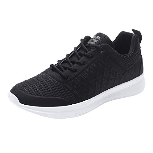 Lefthigh Men Outdoor Casual Lace-Up Sports Shoes Run Breathable Sneakers