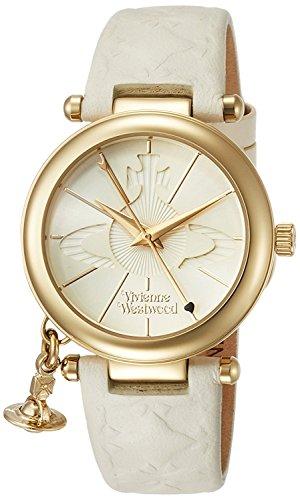 Vivienne Westwood watch ORBII white dial white leather ladies VV006WHWH Ladies