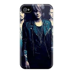 Iphone 4/4s RWQ10612xMrM Custom Vivid Papa Roach Series Protector Hard Cell-phone Cases -JoanneOickle