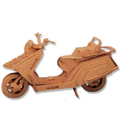 大勧め 3 - D木製パズル – Luxury B004QDPKAC Motorcycle – dchi-wpz-p021 Affordableギフトfor 3 your Little One。Item # dchi-wpz-p021 B004QDPKAC, Neo Globe:652dbaed --- quiltersinfo.yarnslave.com